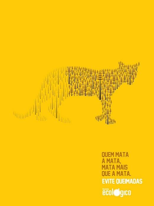 Линяющие звери: зеленая реклама из Бразилии
