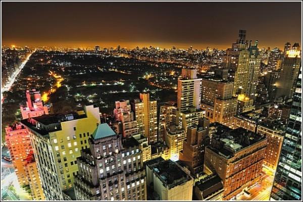 Городские фотографии Эндрю Мейса: вид сверху