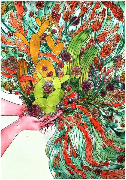 *Завладение*: яркие рисунки Сабрины Скотт