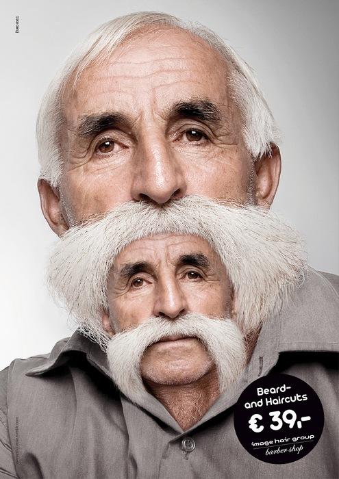 Мое второе лицо: оригинальная реклама парикмахерской