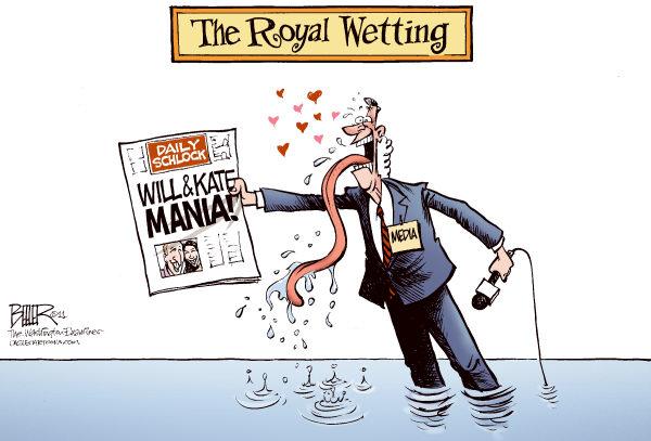 Игра слов: wedding - свадьба, wetting - орошение