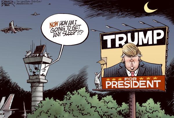 Дональд Трамп: и сон как рукой снимет