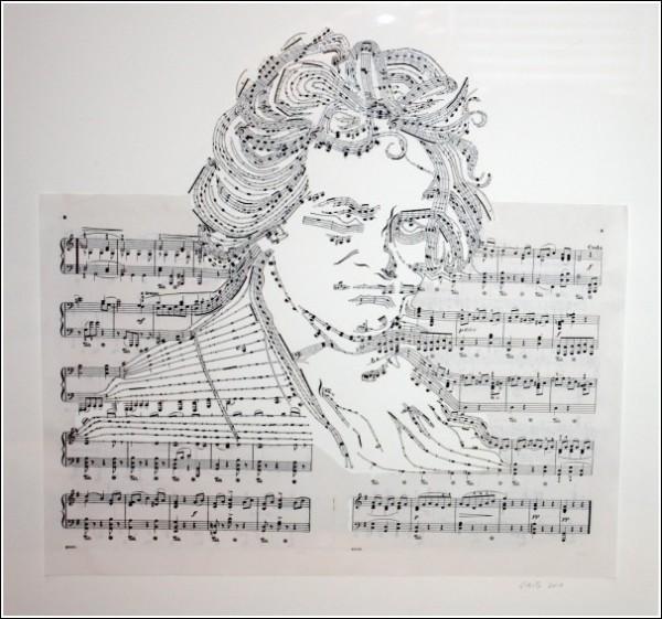 Оригинальные картины Эрики Айрис Симмонс: Людвиг ван Бетховен