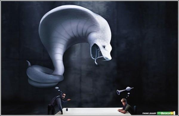 Перехитрите противника: змейка и дудочка