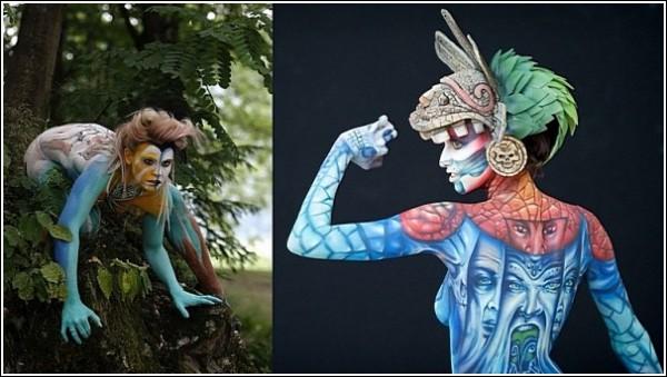 Фестиваль бодиарта: фотографии с мирового арт-шоу