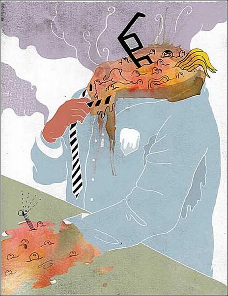 *Точка кипения*. Акварельные рисунки Ко-Хсин Хонг