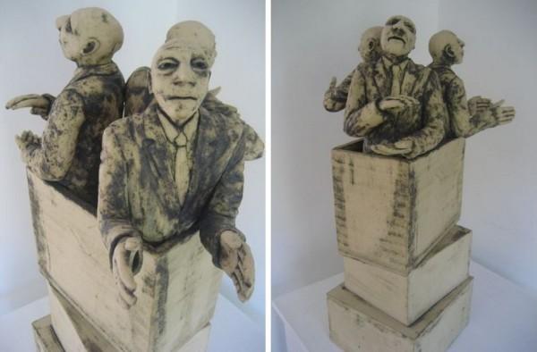 Столпотворение: керамические работы Роджера Уайтейкера