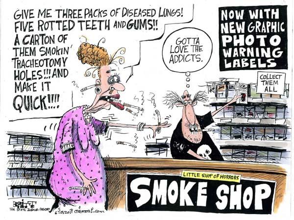 Не отнимайте у женщин сигарет: сами пожалеете