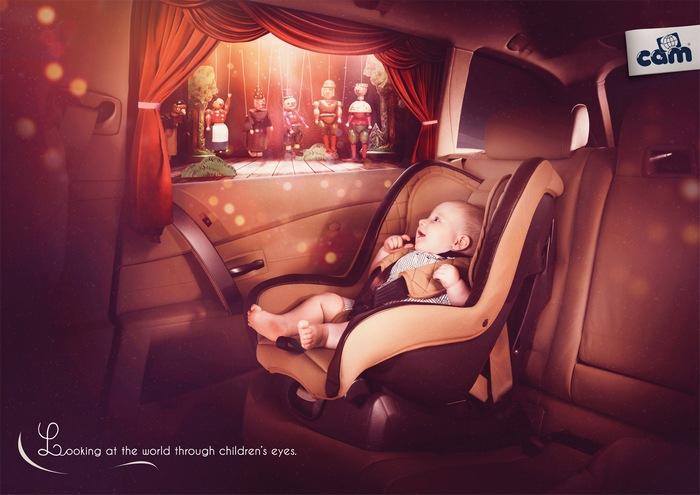 Весь мир - театр и развлекуха: забавная реклама детского магазина