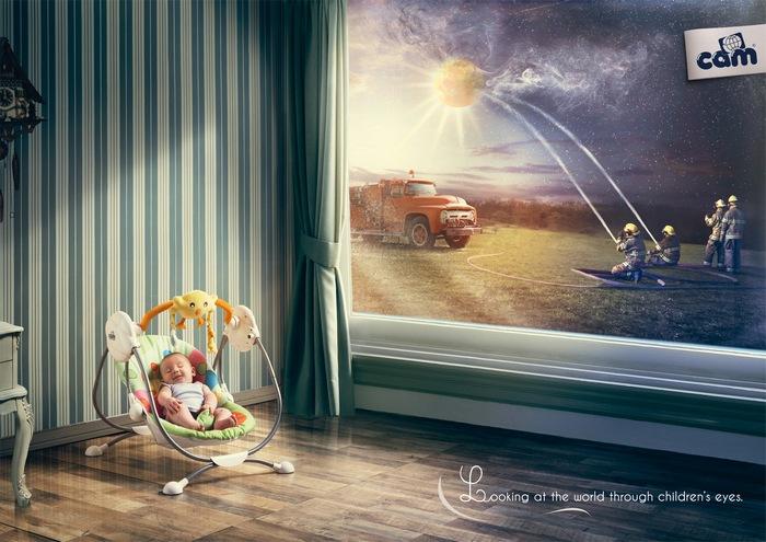 Очами младенца: забавная реклама детского магазина