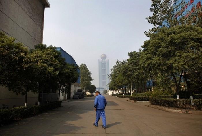 Вид на небоскреб