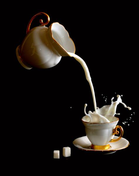 «Перерыв на кофе»: фотографии, сделанные с помощью высокоскоростной съемки
