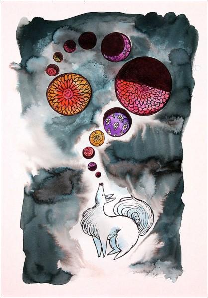*Общение*: яркие рисунки Сабрины Скотт