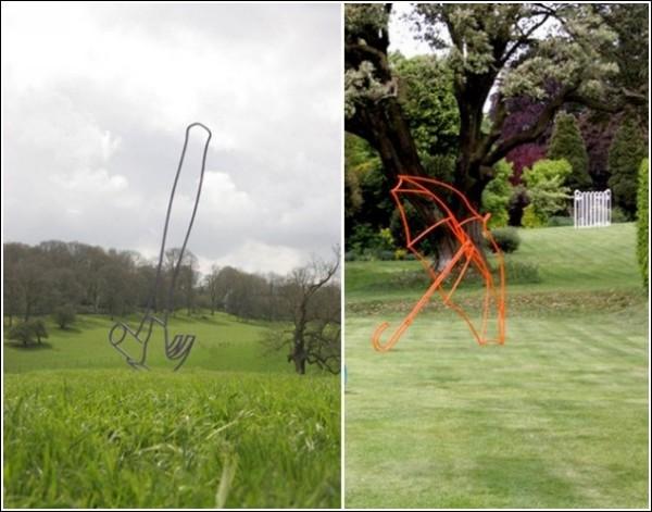 Современная скульптура Майкла Крейг-Мартина: достаточно каркаса