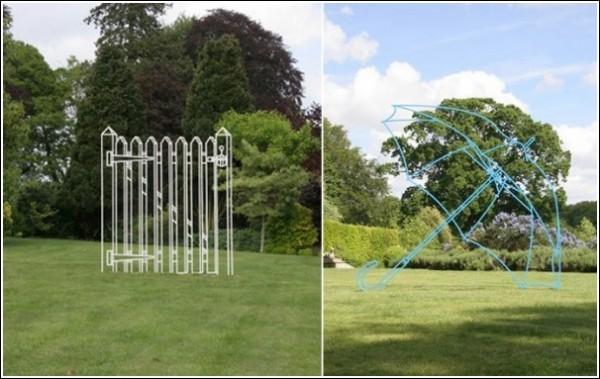 Современная скульптура Майкла Крейг-Мартина: предметы теряют материальность