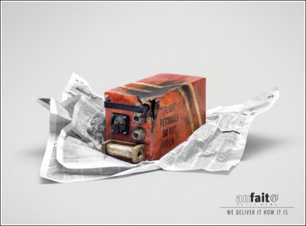Газетная реклама из Марокко: черный ящик