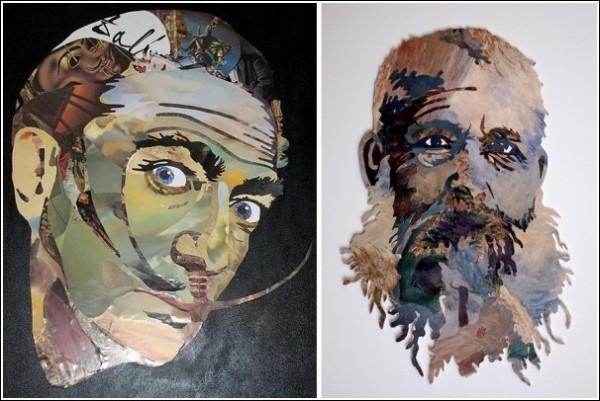 Картины из текстов, нот и кинопленки: Сальвадор Дали, Клод Моне