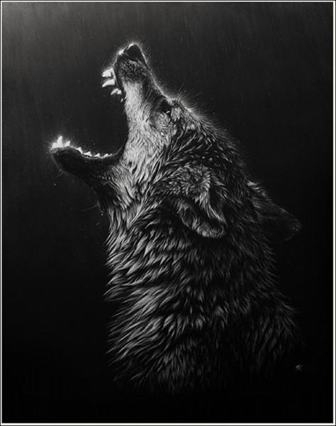Арт-охота на волков: гратография Кристины Пенеску