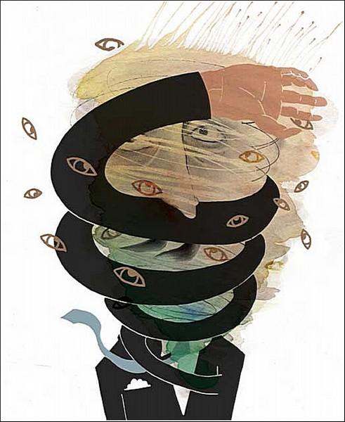 Акварельные рисунки Ко-Хсин Хонг: глаза разбегаются