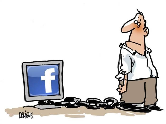 Изменения в социальной сети Facebook (Фейсбук) глазами художников-карикатуристов