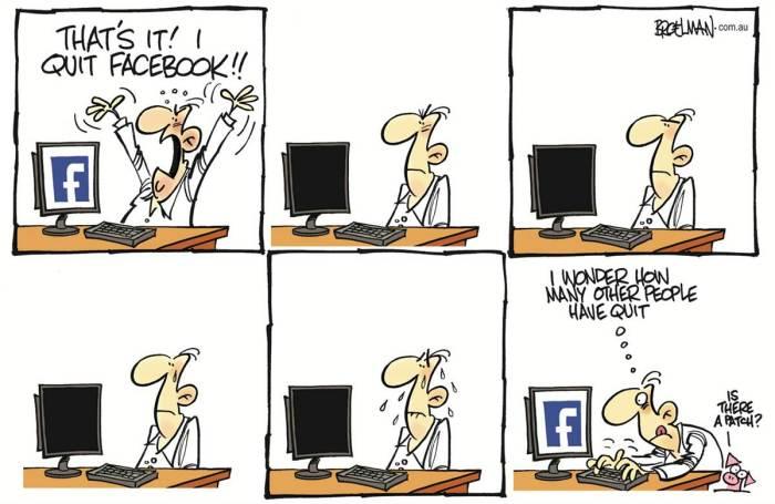Перемены в сети «Фейсбук» заставляют уходить - и возвращаться