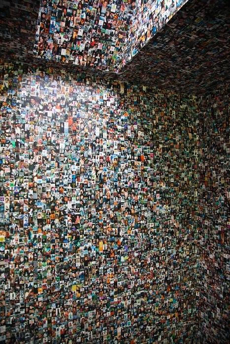 Стена Facebook, да не та: 100 тысяч лиц!