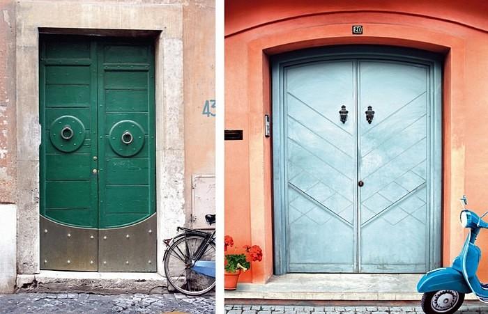 Улыбчивые двери: креативная реклама службы доставки