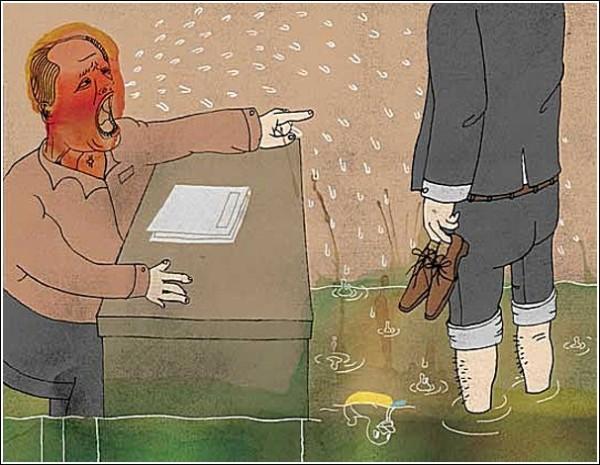 Поток нечленораздельной речи. Акварельные рисунки Ко-Хсин Хонг