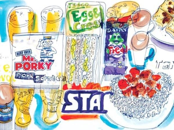Пищевой дневник: продукты, оформление, дизайн упаковки