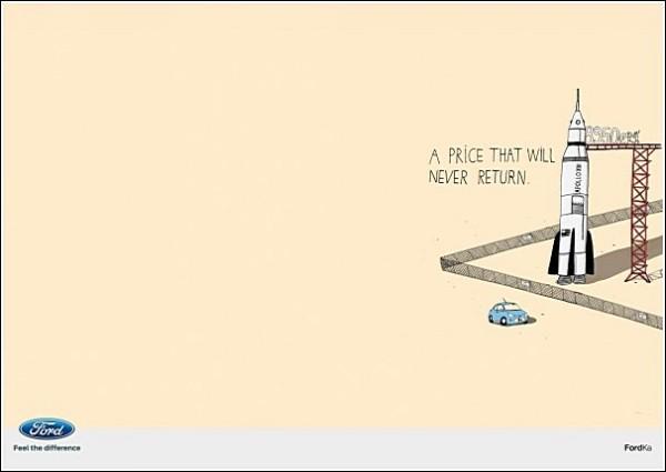 Рисованная реклама «Форда»: такая цена больше не вернется