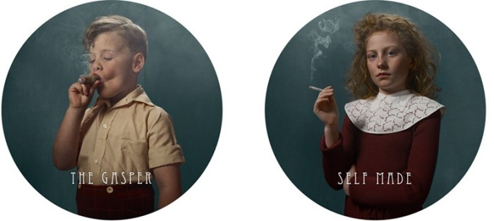 Дет, курящие сырные палочки