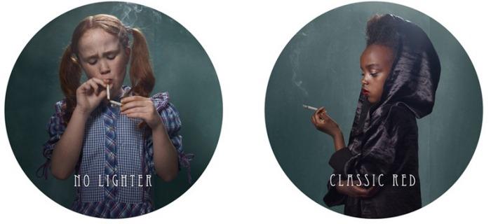 Табак - зло: фотографии курящих детей