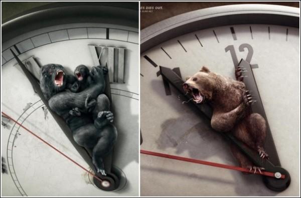 Минута до вымирания: шокирующая зеленая реклама