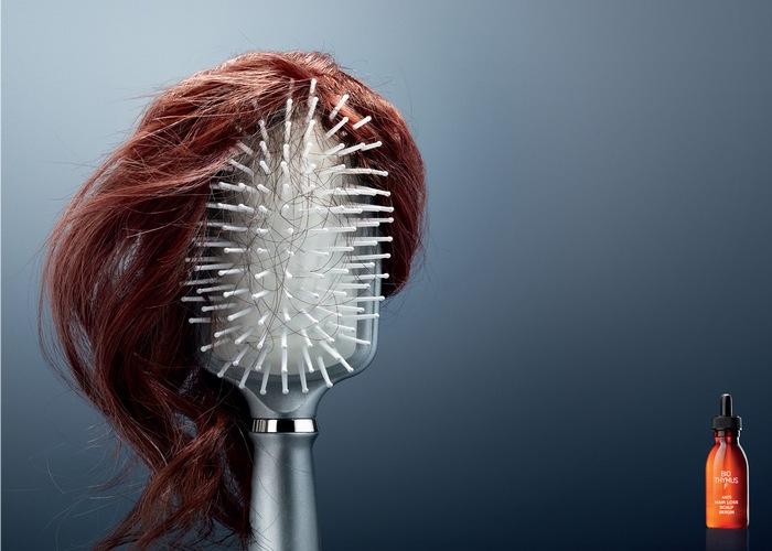 На бочок - паричок: реклама средства против выпадения волос