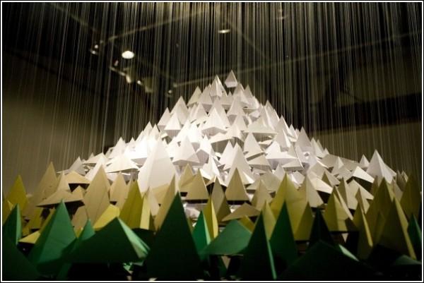 Маунт-художество: бумажное искусство Марисы Грин и Питера Богарта