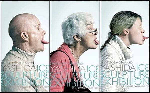 Ледовая скульптура, от которой невозможно оторваться: креативная реклама выставки
