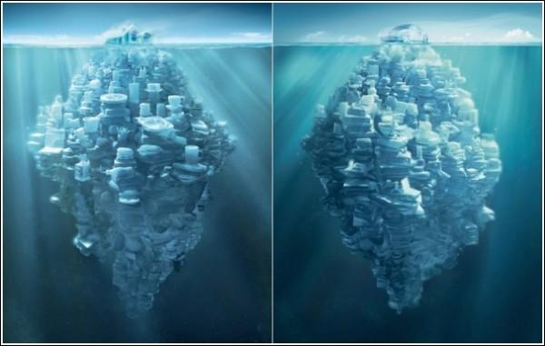 Мой дом - мой айсберг: реклама страховой компании