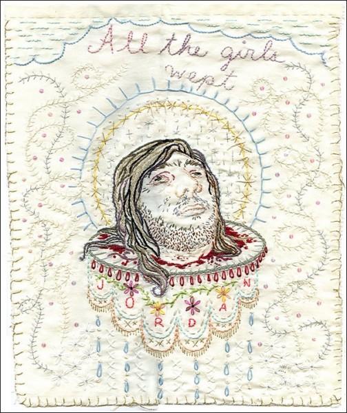 Картины с иголочки: Иоанн Креститель