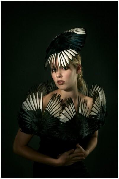 Необычные наряды и украшения Джесс Итон: жертвоприношения на алтарь моды запрещены