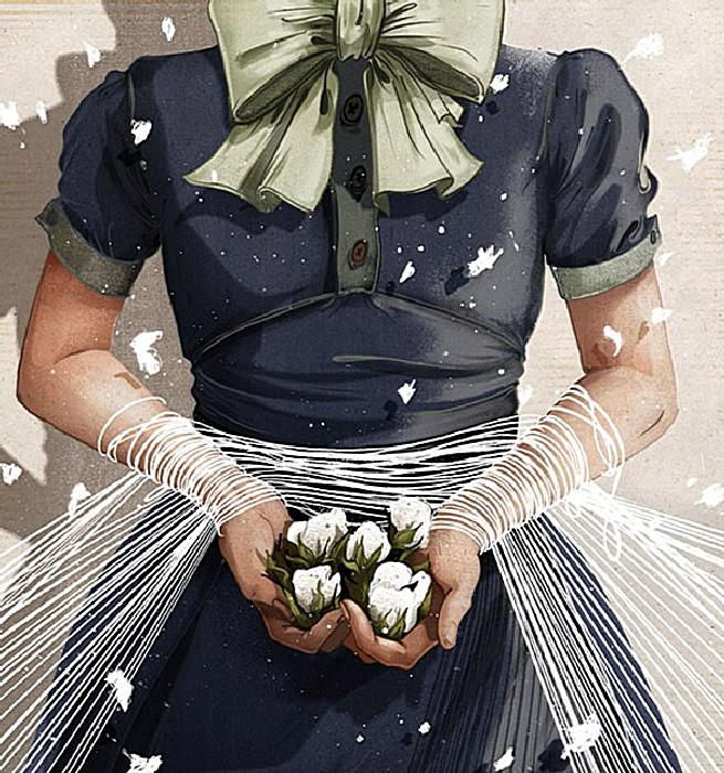 Редкий женский образ: серия рисунков Джонатана Бартлета