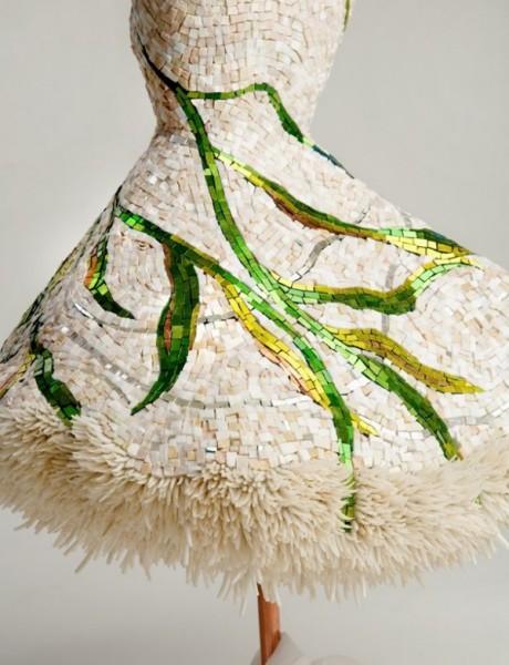 Наряды из смальты и мрамора: платье «Течение»