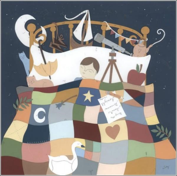 Цветные иллюстрации цветных снов: бумажное творчество Тимоти Карпински