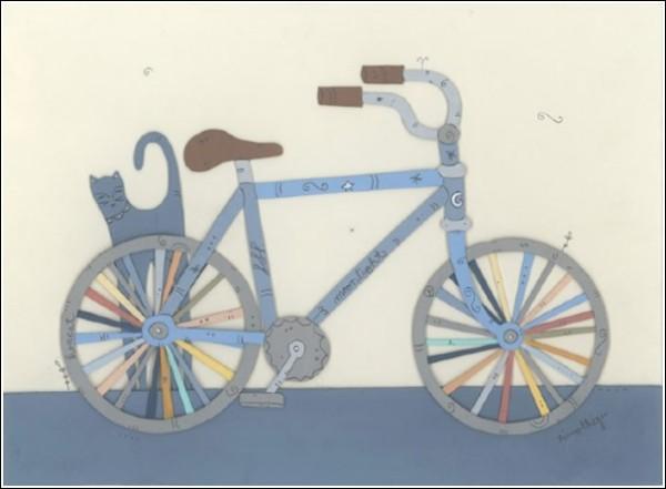 Цветные иллюстрации - визуальный дневник художника