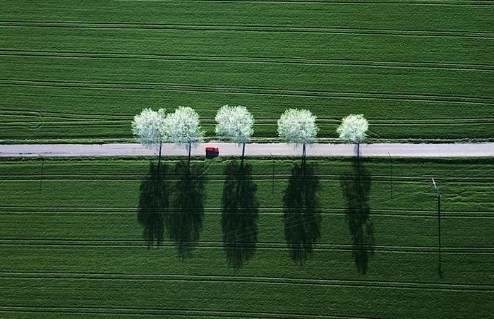 Изумительные фотопейзажи с высоты птичьего полета