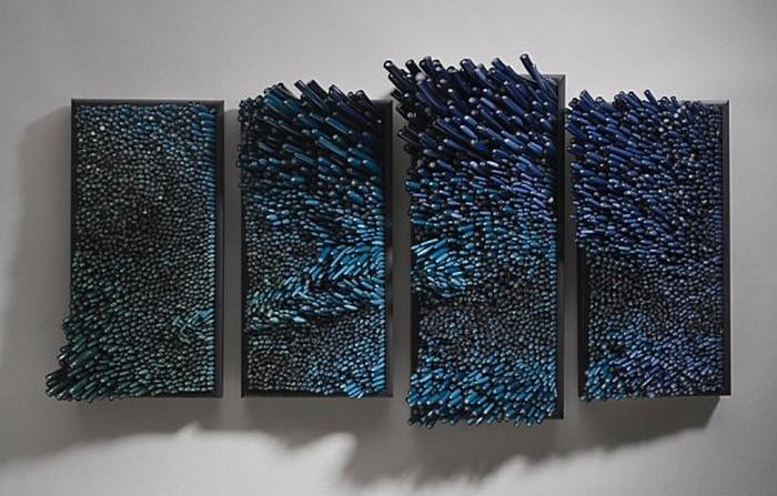 Подводная синева: стеклянные поделки Шайны Лейб