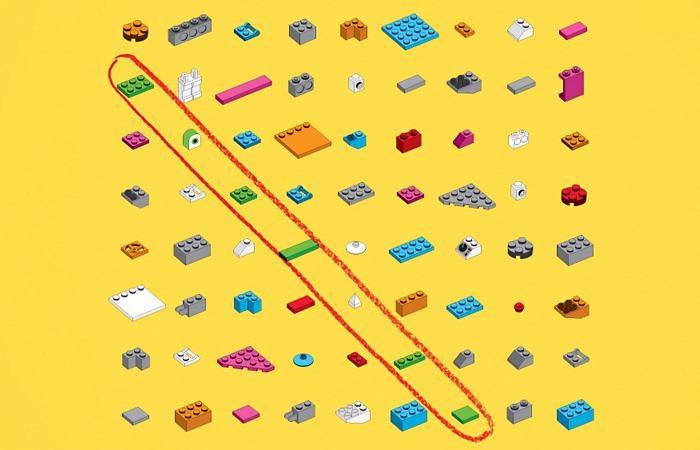 Датский кроссворд: оригинальная реклама конструктора «Лего»