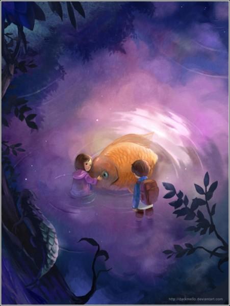 Цифровая живопись Мелани Си: «Отпусти ее»
