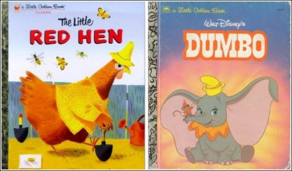Легендарные золотые книжки из золотого детства Райана Новеллайна