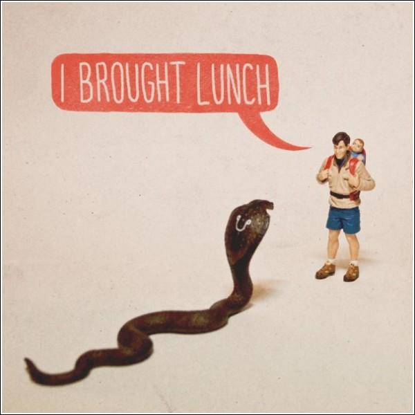 Черный юмор: «Я принес обед»