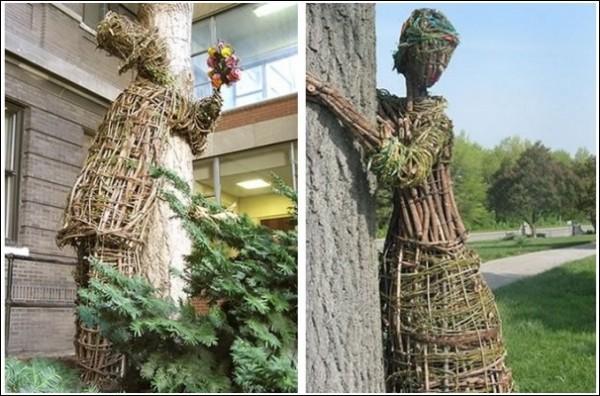 Трогательные плетеные человечки Агнешки Градзик и Виктора Шостало